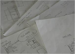 Our ideas start with the input and concept sketches of skilled craftsmen.