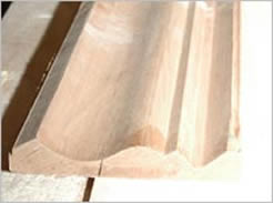 We start with the finest materials to get the best finished hardwood surfaces.