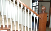 custom fabricated railing and verticals